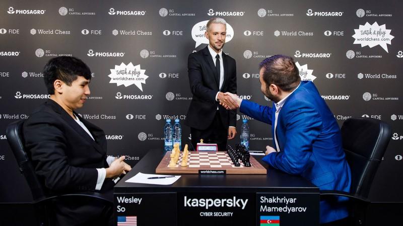 Mamedjarovs pirmajā finālspēlē Rīgā pārspēj Vašjē-Lagravu