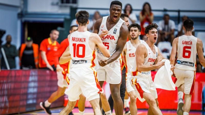 Spānijai pietiek ar 57 punktiem, lai ceturto reizi triumfētu Eiropas U18 čempionātā