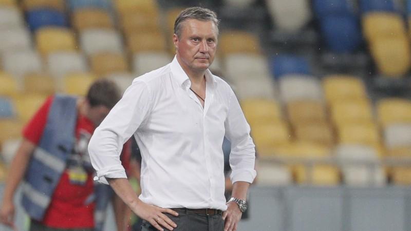 """Bijušais """"Ventas"""" futbolists Hackevičs atstājis Kijevas """"Dynamo"""" galvenā trenera amatu"""
