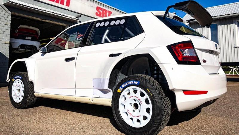 Latviešu SRT rallija komanda iegādājas jauno ''Škoda Fabia R5 Evo''