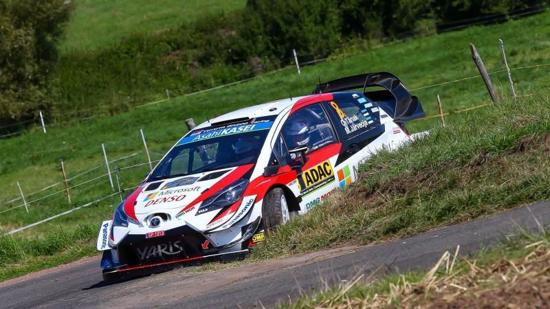 WRC līderis Tanaks izvirzās pirmajā vietā Vācijas rallijā