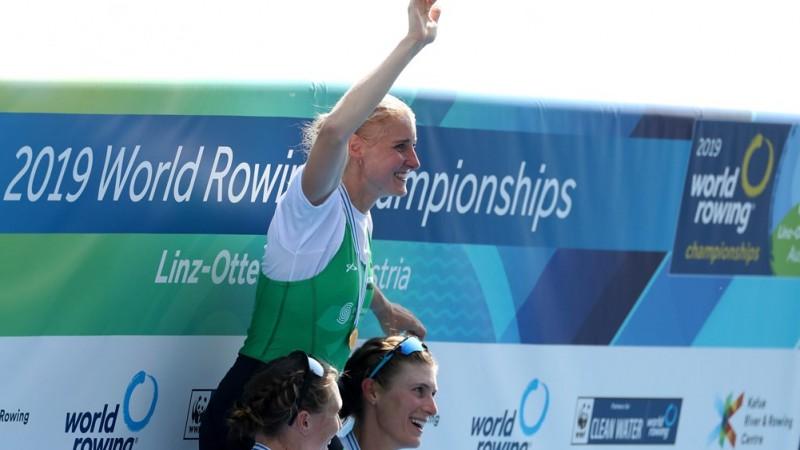 Īrijas latviete Pušpure - otro gadu pēc kārtas pasaules čempione