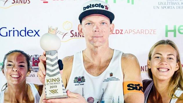 """FIVB sankcionētais pludmales volejbols atgriezīsies ar """"King of the Court"""""""