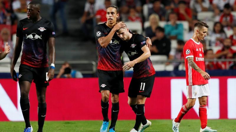 Verners atnes Leipcigai trīs punktus Lisabonā, Barselona neuzvar Mesi debijā