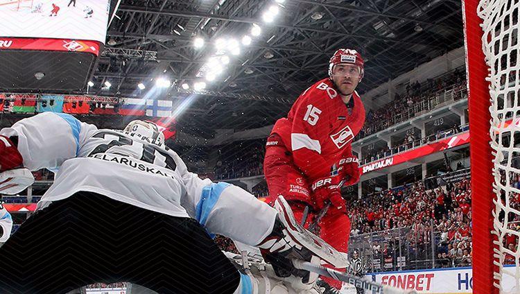Karsumam sezonas desmitie vārti, Odiņš atgriežas KHL tiesneša darbā