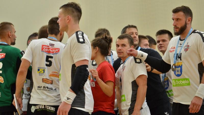 """Latvijas čempione """"Tenax"""" Virslīgas sezonu iesāk ar graujošu uzvaru"""
