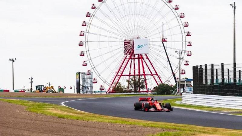 """Fetels un Leklērs nodrošina """"Ferrari"""" pirmo starta rindu Japānā"""