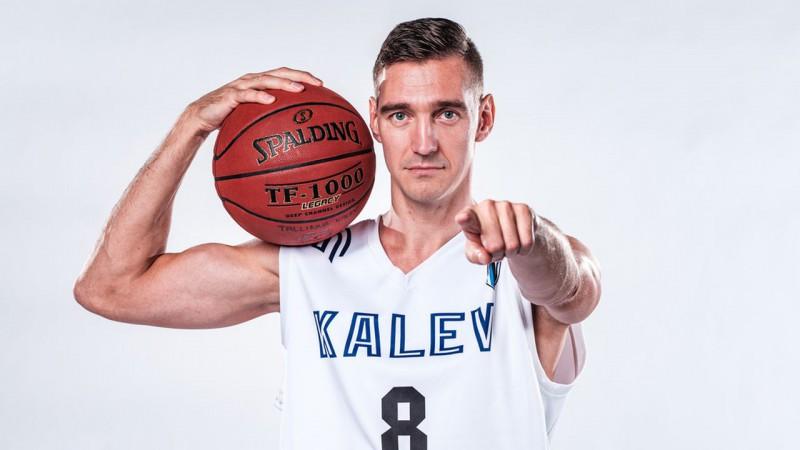 """Jurevičum sezonas rezultatīvākā spēle, """"Kalev/TLU"""" grauj Tallinas derbijā"""