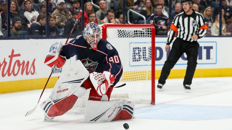 Merzļikins pēc veiksmīgās spēles AHL atkal apmainās vietām ar Kivlenieku