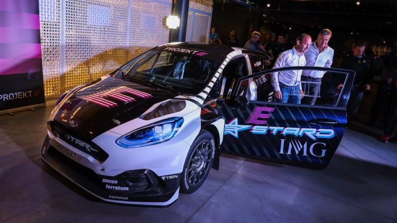 ''Neste World RX of Riga'' startēs arī ''Projekt E'' elektroauto
