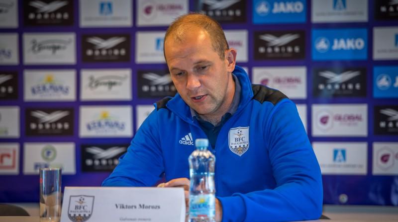 """""""Daugavpili"""" vadījušais Morozs kļūst par RFS galvenā trenera Dambrauska palīgu"""
