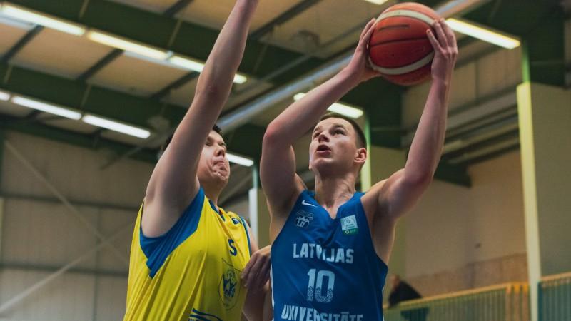 """LBL2: Bērzem 18+6+5, LU/BS """"Rīga"""" pieveic """"Bauskas BJSS""""/SC """"Mēmeli"""""""
