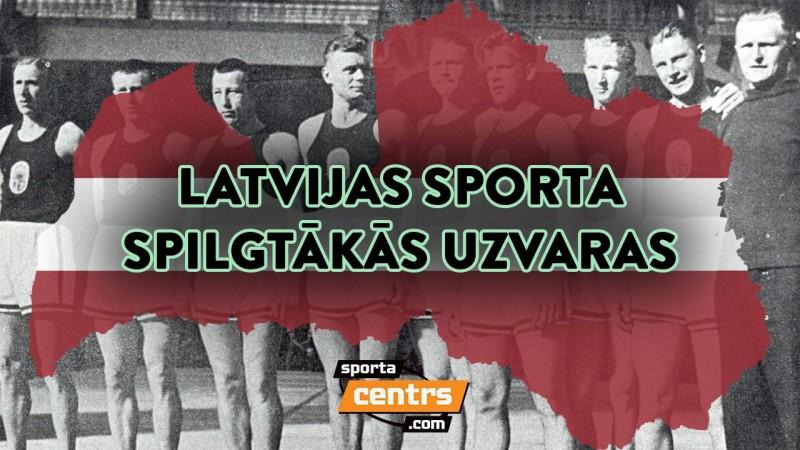"""Šovakar """"Sporta tarkšķi"""" Latvijas svētku noskaņās par lielākajām uzvarām"""