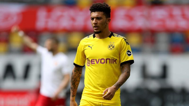"""Medijs: Dortmunde noraidījusi Mančestras """"United"""" 98 miljonu piedāvājumu par Sančo"""