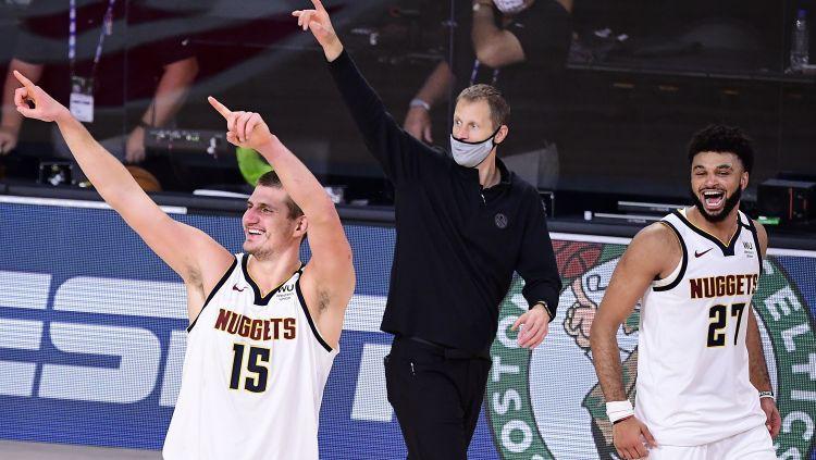 """Denvera vēlreiz atspēlējas no 1-3, sakauj """"Clippers"""" un iekļūst Rietumu finālā"""