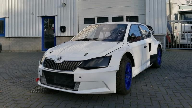 Edijs Ošs iegādājas jaunu ''Škoda Fabia RX'' automašīnu un tēmē Eiropas RX virzienā