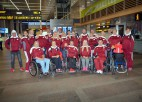 Foto: Latvijas izlase dodas uz Rio paralimpiskajām spēlēm