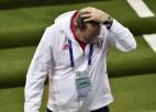 Oficiāli: Krievijas Futbola savienība pieņem Slucka demisiju