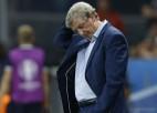 Hodžsons atkāpies no Anglijas izlases galvenā trenera amata