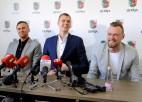 Kristapa Porziņģa preses konference šodien Sportacentrs.com TV tiešraidē