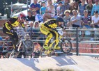 Pieci Latvijas elites sportisti Mančesterā uzsāka Pasaules kausa BMX superkrosā sezonu