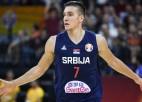 Bogdanovičam 31 punkts, Serbija atspēlējas no -13 un izcīna piekto vietu