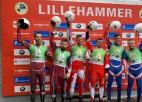 Zirnei un Putinam/Marcinkēvičam godalgas Nāciju kausā Lillehammerē