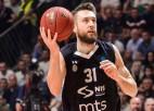 """Peinera pārstāvētā """"Partizan"""" basketbola komanda ārpus telpām atsāks treniņus"""