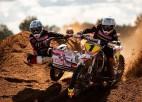 Brāļi Daideri triumfē Madonas motokrosā