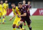 Pirms pievienošanās izlasei Dubram savainojums Ukrainas čempionātā