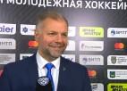 """Video: HK """"Rīga"""" galvenais treneris Valērijs Kuļibaba tiek nosaukts par Oļegu"""