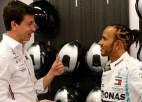 """Volfs: """"Ja Hamiltons vēlas, viņš var beigt savu karjeru"""""""
