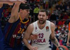 Strēlnieka CSKA izbraukumā apspēlē ''Real'', ''Žalgiris'' pamatīgi zaudē ''Fenerbahce''