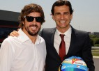 """De la Rosa: """"Alonso ir spējīgs trešo reizi kļūt par F1 čempionu"""""""
