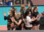 Video: RVS/LU volejbolistes otro gadu pēc kārtas spēlēs Baltijas Sieviešu volejbola līgas finālā