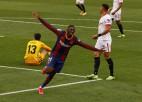 """""""Barcelona"""" pārtrauc """"Sevilla"""" iespaidīgo uzvaru sēriju"""