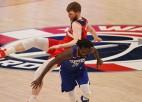 """Bertānam 11 punkti """"Wizards"""" panākumā pret """"Clippers"""""""