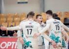 """Finālsērija sākas ar """"RTU/Robežsardze-Jūrmala"""" uzvaru piecu setu spēlē"""