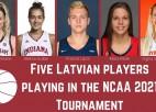 5-0. Latviešu pārstāvētās komandas pārvar NCAA čempionāta pirmo kārtu