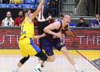 Šteinbergs debitē ACB ar diviem punktiem, Šmits palīdz uzvarēt ''Barcelona''