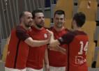 """Video: """"Petrow"""" regulārā turnīra pēdējā mačā atstāj sausā """"Nikaru"""""""