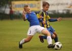 Latvijas futbola U13 čempionātā spēles tomēr notiks ar ceturtā izmēra bumbām