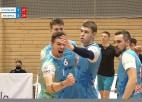 """Video: Latvijas čempioni """"Jēkabpils Lūši"""" turpina uzvaru sēriju"""