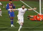 "Benzemā šedevrs, ""Real"" pieveic Barselonu un noķer ""Atletico"""