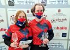Jauktais pāris no Čehijas uzvar Pasaules kērlinga tūres posmā Rīgā