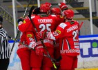 Baltkrievijas hokejisti pārbaudes spēlē sagrauj Austriju