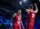 ''Zaragoza'' un ''Pinar Karsiyaka'' iekļūst FIBA ČL pusfinālā
