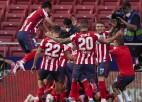 """Atletico"" otro reizi Simeones ērā kļūst par Spānijas čempioni"