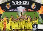 """""""Villarreal"""" uzvar 22 sitienu garā <i>pendeļu</i> sērijā un uzvar Eiropas līgā"""