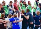 Sieviešu handbola izlasei divas pārbaudes spēles ar igaunietēm